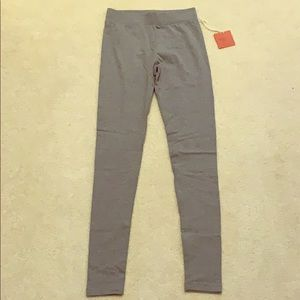 Heather Gray Leggings, NWT